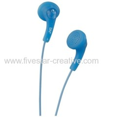JVC HA-F150 Gumy In-Ear Headphones-Peppermint Blue