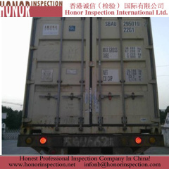 Container Loading Inspection for Storage Battery