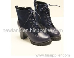 2013 super high heel PU martin ankle boots for lady