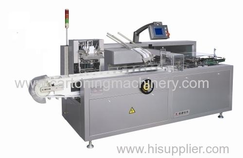 cartoner machine hot glue