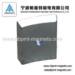 Arc NdFeB Magnet for Motor and Speaker
