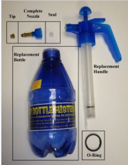 Transparent sprayer 1Liter Transparent PUMP FOR balloon balloon PUMPING