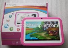 The cheapest Kids tablet pc 1024x600 edu appds kid mode