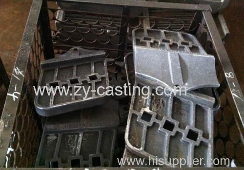carbon steel board excavator part