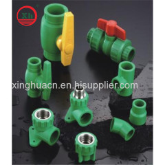 From China thermoplastic piping industry PPR fitting and pipe