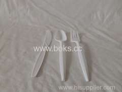 2013 plastic spoon fork and knife