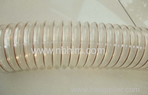 Flexible Duct Hose : Pu flexible hose air duct transplantation