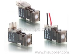 HB10-Wire leads Series 10mm 3/2 way Pilot Valve