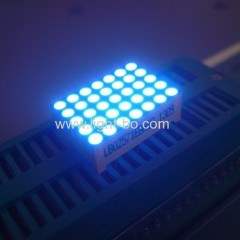 "0.7"" 5 x 7 Dot matrix LED Display;blue 5 x 7 led dot matrix; 5 x 7 blue dot matrix;"