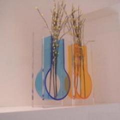 acrylic vase flower vase