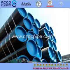 ASTM A 106M Gr.B 6''*SCH80 seamless steel pipe