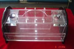 acrylic microphone stand acrylic holder, acrylic microphone rack, acrylic microphone holder