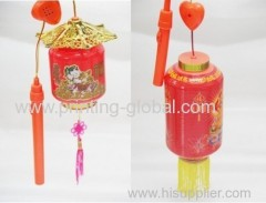 Heat transfer film for lanterns