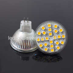 24SMD MR16 LED spotlight bulb