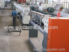 pe pipes poduction line plastic machine