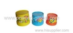 Hot stamping film for plasticine bucket of children toys