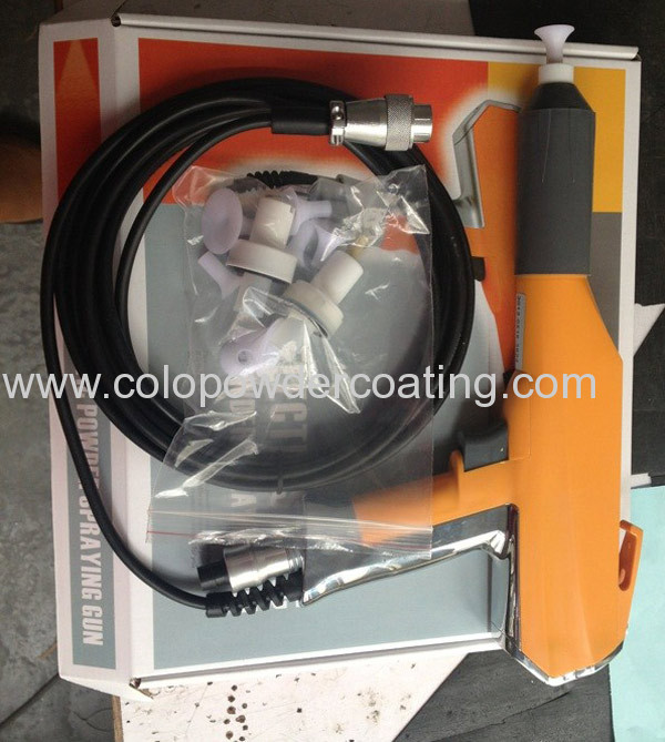 Digital display electrostatic powder coating equipment
