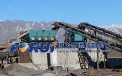 jig gravity separator for alluvial diamond mining separation plant