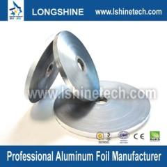 Double bonded aluminum-plastic-aluminum compound belt