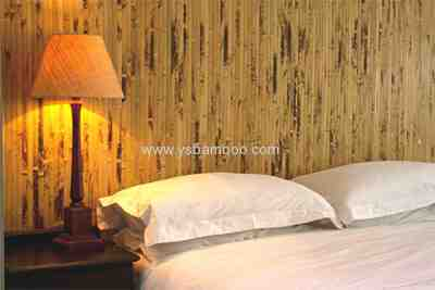 Natural Bamboo Wallpaper Burning Design