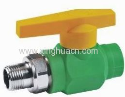 High quality ppr male straight radiator valves
