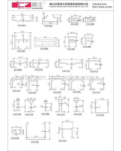 28mm Roller Blind Profile Curtain Rail From China