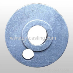 cake machine accessory ductile iron casting cirle shape