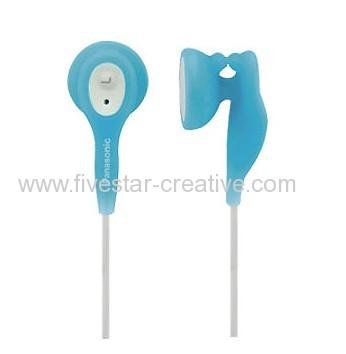 Panasonic RP-HV21 Eardrops Earbud In-Ear Stereo Earphones Blue