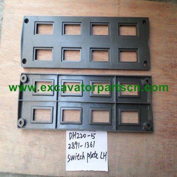 DH220-5 SWITCH PLATE(LH) FOR EXCAVATOR