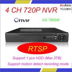 ONVIF 4 CH 720P NVR