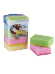 Light Colour Sponge Scouring Pad,Kitchen Sponge scrubber