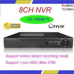 ONVIF 1080P 8CH NVR