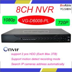 ONVIF 8CH 1080P NVR