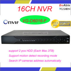 ONVIF 16CH 1080P NVR
