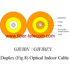 12 fiber flat indoor cable
