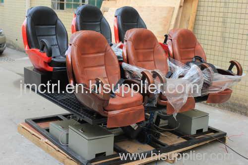 5D theatre 9 seats 6DoF electric servo cylinder motion