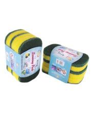 Nylon Abrasive Sponge Scrubber