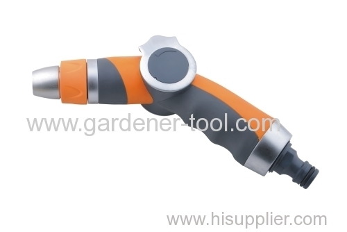 Metal Garden Water Spray Nozzle With thumb valve