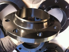 carbon steel welding neck flanges forged BS4504 Rt 37.2