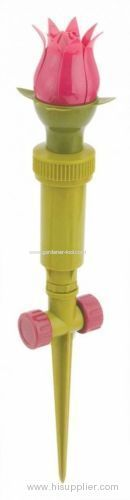 Plastic Tulip Water Sprinkler For Garden Irrigation
