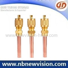 Charging Valve with 30MM Copper Tube for Refrigeration