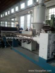 HDPE plastic sheet extruding machine