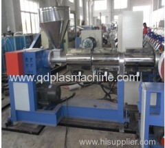 Flexible plastic PVC spiral steel wire pipe machinery