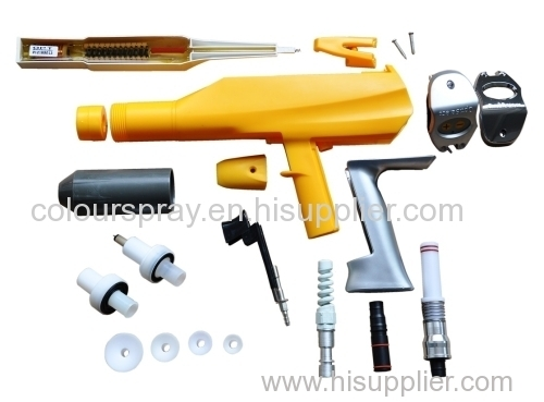 OptiSelect powder gun parts