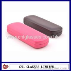 colorful PU leather eyewear case