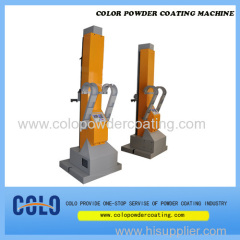 Automatic coating gun mover