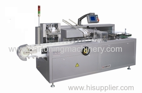automatic cartoning machine for auto parts