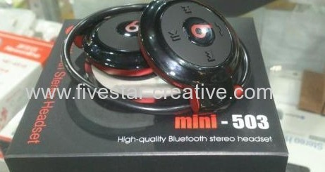 Monster Beats by Dr.Dre Mini-503 Wireless Bluetooth Stereo Headsets Mini503