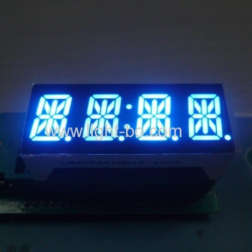 Custom design 4 digit 14 segment LED display common anode red for Instrument Panel