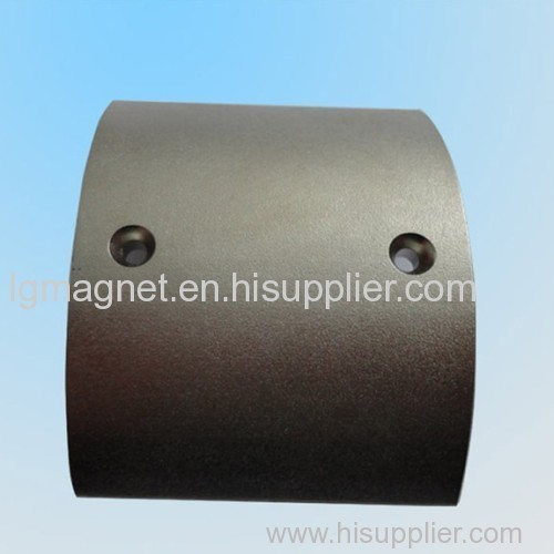 Abnormity Magnet with high performance